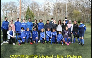 Section Féminines :  Fillofoot interne...
